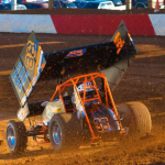 Denmeyer racing on dirt track