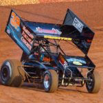Kyle Denmeyer in racecar