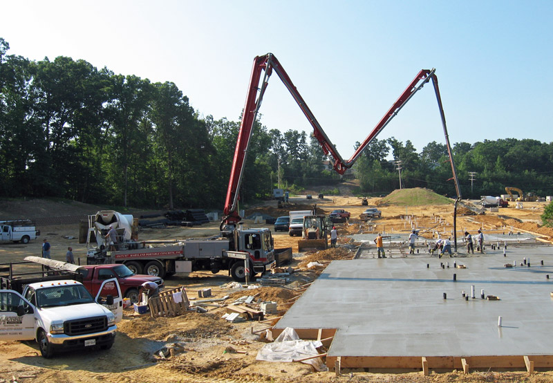 Maryland Concrete Contractor Services