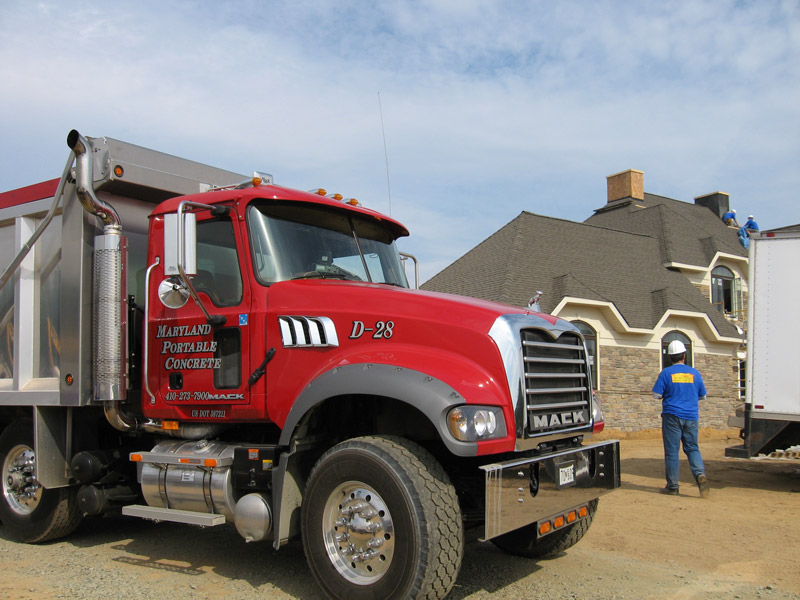 dump truck service Maryland and Delaware